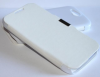 ZTE Blade Q Maxi - Μαγνητική Θήκη Με Σκληρό Πίσω Κάλυμμα Λευκή (ΟΕΜ)