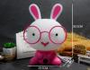 LED Nightlight Κουνέλι Επιτραπέζιο Παιδικό Φωτιστικό ροζ