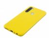 Θήκη ματ tpu σιλικονη μαλακή πίσω κάλυμμα για XIAOMI Note 8 κιτρινο (oem)