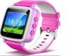 Έξυπνο παιδικό ρολόι εντοπισμού Q80 και παρακολούθησης GPS - Ροζ