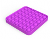 Pop It Παιχνίδι  ΑντιΣτρες - Bubble μονοχρωμο μωβ τετραγωνο  (oem)(bulk)