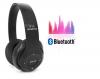 Αναδιπλωμενα Bluetooth ακουστικα P15 σε μαυρο χρωμα