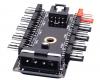 SATA 4 ιντσών PWM Hub ανεμιστήρα υπολογιστή Μεγάλο 4P προσαρμογέα  τροφοδοτικού (OEM)(BULK)