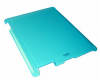 ipad 2 - Approx Θήκη Πίσω Πλαστικό Κάλυμμα Διαφανές Light Blue APPIPC05LB
