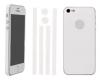 Πλήρες ολόσωμα αυτοκόλλητα για iPhone 5g Λευκό