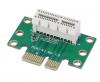 Κάρτα Προσαρμογέας PCI-E PCI Express 1X Adapter Riser Card 90 Degree για 1U Server Chassis