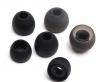 Universal Ανταλλακτικά ακουστικών σιλικόνης, 3 Μεγέθη, Black
