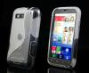 Motorola Defy /Plus - Θήκη TPU GEL S-Line Διαφανής (OEM)