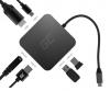 GREEN CELL ΠΡΟΣΑΡΜΟΓΕΑΣ ΠΟΛΛΑΠΛΩΝ ΣΥΝΔΕΣΕΩΝ  HUB USB-C HDMI - 6 θύρες για MacBook Pro, Dell XPS, Lenovo X1 Carbon και άλλα
