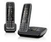 Ασύρματο Τηλέφωνο GIGASET C530A Duo Μαύρο