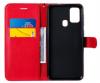 Θήκη Δερματίνης για Samsung Galaxy M31 - Κοκκινο (ΟΕΜ)