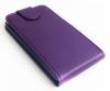 Motorola Moto E Dual SIM XT1022 - Δερμάτινη Θήκη Flip Μώβ (ΟΕΜ)