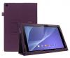 Δερμάτινη Θήκη για το Sony Xperia Tablet Z2 Μώβ (ΟΕΜ)
