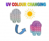 Pop It Παιχνίδι  ΑντιΣτρες - Bubble UV (χρωματιζεται με ακτινες UV) Among Us / Android (oem)(bulk)