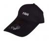Καπέλο Baseball με επαναφορτιζόμενο  Ανεμιστηράκι Μαύρο (OEM) (BULK)