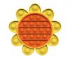 Pop It Παιχνίδι  ΑντιΣτρες - Bubble ουρανιο-τοξο  Μαργαριτα  (oem)(bulk)