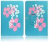"""Δερμάτινη Μαγνητική Θήκη  για το Samsung Galaxy Tab 4 10.1"""" T530  10.1 ΣΙΕΛ ΜΕ ΛΟΥΛΟΥΔΙΑ (OEM)"""