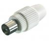 Coax plug 75 ohm (OEM)