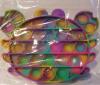 Pop It Παιχνίδι  ΑντιΣτρες - Bubble νερομπογιες χρωμ/σμος  Καβουρας (oem)(bulk)
