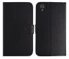 Δερμάτινη Θήκη Πορτοφόλι  για  CATERPILLAR S41 Μαυρη (Clear)
