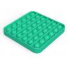 Pop It Παιχνίδι  ΑντιΣτρες - Bubble μονοχρωμο μπλε ανοιχτο τετραγωνο  (oem)(bulk)