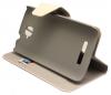 Δερμάτινη Stand Θήκη/Πορτοφόλι για Alcatel One Touch Pop C7 OT-7041D Λευκό (OEM)