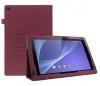 Δερμάτινη Θήκη για το Sony Xperia Tablet Z2 Σκούρα Ρόζ (ΟΕΜ)