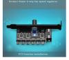 4pin Hub HDD VGA PWM Fan PCI , ανεμιστήρα υπολογιστή προσαρμογέα τροφοδοτικού (OEM)(BULK)