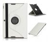Δερμάτινη Θήκη Περιστρεφόμενη για το Asus Memo Pad FHD10 Λευκή (OEM)