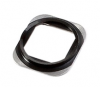iPhone 5S Home button chrome ring in Black
