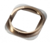 iPhone 5S Home button chrome ring in gold