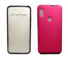 Θήκη Σιλικόνης Full Cover Για Xiaomi Redmi 7 Ροζ με περιμετρικά μαύρο (ΟΕΜ)