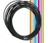 PETG 3D νήμα 1,75 mm - χρωμα σκουρο ασημι (Esun) 10 meters