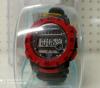 Αντρικό Ψηφιακό Αδιάβροχο Ρολόι Καρπού Σιλικόνης Χρώματος Μαύρου με Κόκκινες Λεπτομέρειες(ΟΕΜ)