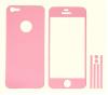 Πλήρες ολόσωμα αυτοκόλλητα για iPhone 5g Ρόζ