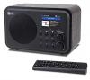 Φορητό ψηφιακό ραδιόφωνο  Internet WiFi WR-336N  με επαναφορτιζόμενη μπαταρία Δέκτης Bluetooth  με έγχρωμη οθόνη 2,4 ιντσών, 4 πλήκτρα προεπιλογής,  υποστήριξη UPnP & DLNA-μαύρο