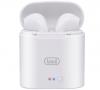 Ασύρματα Ακουστικα Bluetooth με βάση φόρτισης Trevi HMP-1220 Air σε ασπρο χρωμα