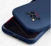 Θήκη ματ tpu σιλικονη μαλακή πίσω κάλυμμα για XIAOMI POCO X3 Σκουρο Μπλε  (oem)