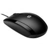 Ποντίκι ενσύρματο  HP X500 (Μαύρο)