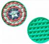 Pop It Παιχνίδι  ΑντιΣτρες - Bubble μονοχρωμο  ΜΕ ΣΧΕΔΙΟ CAPTAIN AMERICA ΑΣΠΙΔΑ (oem)(bulk)