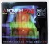 Minidisk εγγραφής Mitsubishi  (74 λεπτά) 2 τεμαχια