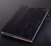 Δερμάτινη Θήκη Πορτοφόλι για ipad Air 2013 / ipad 5 Μαύρη LWCIPA2013BL OEM