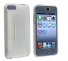 Θήκη σιλικόνης με είσοδο για ζώνη για Apple iPod Touch 2G 3G - Άσπρη (OEM)