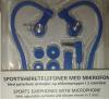 Ασύρματα Ακουστικά Hands free Άθλησης Bluetooth με μικρόφωνο - Μπλέ (ΟΕΜ)