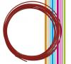 PETG 3D νήμα 1,75 mm - χρωμα κοκκινο (Esun) 10 meters