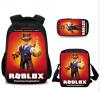 Roblox des6 Game Τσάντα πλάτης αδιάβροχη Και Τσαντακι φαγητου Και Κασετινα (ΟΕΜ)