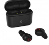 KSIX FREE PODS TRUE WIRELESS EARPHONES WITH MICROPHONE BLACK