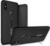 Σκληρή Θήκη Σιλικόνης με Stand Kickstand Case New Generation I Want Personality Not Trivial για Xiaomi  - Μαύρο