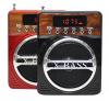 Kemai MD-89UK Mini MP3/Fm radio Speaker with microphone, built-in MP3 player and FM radio, support MP3 play from USB/SD Card - Red - Φορητό ηχείο με μικρόφωνο και δυνατότητα αναπαραγωγής Mp3 μέσω USB ή SD κάρτας και ενσωματωμένο FM δέκτη - Μαύρο-