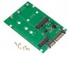 mSATA & NGFF M2 to SATA Adapter Converter mSATA/NGFF SSD to 2.5inch SATA Adapter Support mSATA SSD + M.2 NGFF SSD
